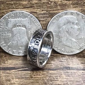 💍custom-made Handcrafted Coin Rings.
